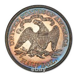 1886 50C Seated Liberty Half Dollar PCGS PR 63 Proof Toned Key Date Tough