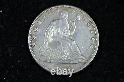 ESTATE FIND 1875 CC Seated Liberty Half Dollar #D17459
