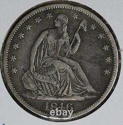 Nice 1846-O Seated Liberty Half Dollar