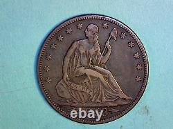 Seated Liberty Half Dollar 1853 KM# 79 Arrows & Rays