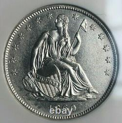 Ss Republic, U. S. Issue 1860 O Shipwreck Effect (b)unc Liberty Seated Half Dol