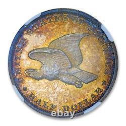 1838 Seated Liberty Demi-dollar Pattern J-79 A Ngc Pr 64+ Cac Approuvé Ex 66
