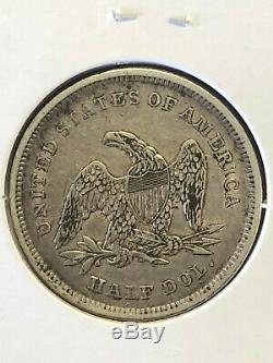 1839 Demi-liberté Assis Dollar, Draperie, High Grade Coin