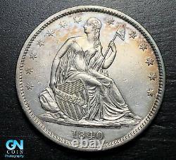 1840 P Assis Liberty Demi-dollar - Faites-nous Une Offre! #b9251