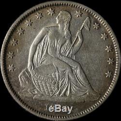 1840-o Assis Half Dollar Choix Xf Grand Œil Appel De Nice Grève