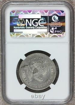 1840-p U.s. Seated Liberty Small Letters Half Dollar Silver Coin Ngc Au 53