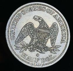 1843 O Seated Liberty Half Dollar 50c High Grade Choice Silver Us Coin Cc5806