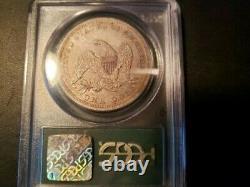 1843 Seated Liberty Dollar Classé Pcgs Xf 40 À Ogh