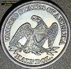 1846 Liberty Seated Silver Half Dollar Rpd (wb-103) Die Pair 6 (soi-disant 6/5)