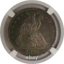 1846 O 50c Medium Date Sièged Liberty Half Dollar Argent Ngc Xf40 Pièce
