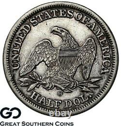 1846-o Assis Liberté Demi-dollar, Meilleure Date D'émission Nouvelle-orléans