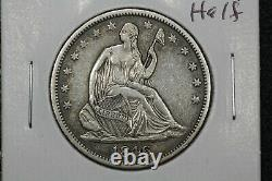 1846-o Seated Liberty Demi. Xf+