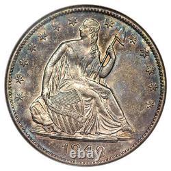 1848-o Assis Demi-dollar Anacs Au55