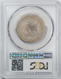 1852 O 50c Seated Liberty Demi-dollar Pcgs Vg 8 Très Bonne Date Clé Tough Coin