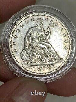 1853 Arrets Et Rayons Dollars Libertés