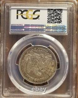 1853 Liberté Assise Demi-dollar 50c Flèches Et Rayons Pcgs Xf45