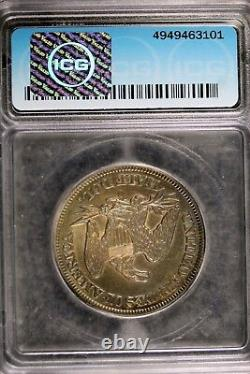 1855 O Icg Au58 Seated Liberty Half Dollar! Numéro Hd0129