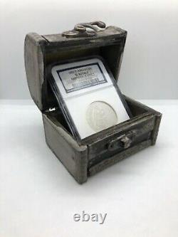 1855-o Arrows Ngc Épave Ss République Sièged Liberty Half Dollar 50c Us Coin