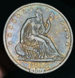 1856 Seated Liberty Half Dollar 50c High Grade Choice Gem Us Silver Coin Cc5551