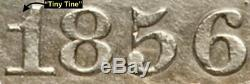 1856-o Liberté Assis Demi-dollar En Argent Wb-6 (r4) Rarissime