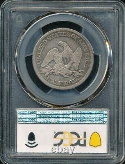 1856-o Liberté Assise Demi-dollar Pcgs Vf 25