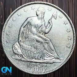 1858 O Seated Liberty Demi-dollar - Faites-nous Offre! Numéro K6027