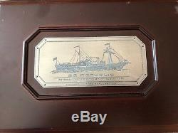1858-o, U. S. Argent Liberté Seated Half Dollar Framlington 1865 Ss. République Shipwreck