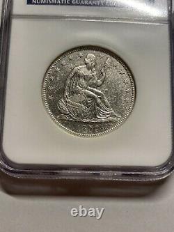 1859 O Assis Liberty Half Dollar Ss Republic Ngc Shipwreck Effect Spike In 1