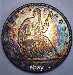 1859 O Au / Bü Assis Liberté Demi-dollar Date De Clé Wb-101. # 214