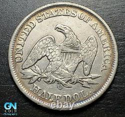 1859 O Seated Liberty Half Dollar - Faites-nous Une Offre! #b8710