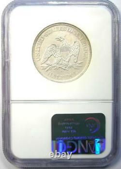 1860-o Liberty Half Dollar 50c Ngc Certifié Ss République Naufrage