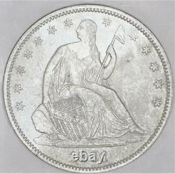 1861 Assis Demi-dollar Ss Republic Ngc Shipwreck Effect Unc U. S. Issue
