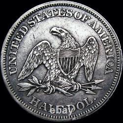 1861 Assis Liberté Demi-dollar En Argent - Type Coin Nice - # D529