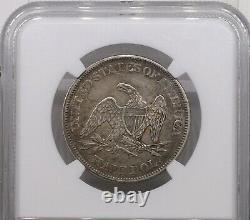 1861 Liberté Assise Demi-dollar