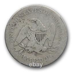 1861 O 50c Csa Avers Seated Liberté Demi-dollar Pcgs Ag 3 Est Plus Joli