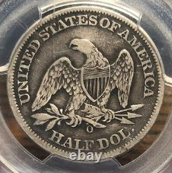 1861 O Assis Demi-dollar Pcgs Dommages Véritables Vf Détails Confédéré States Coin