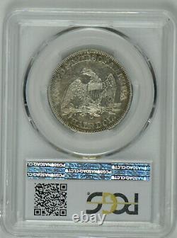 1861 O Seated Liberty Demi-dollar Au 53 Pcgs