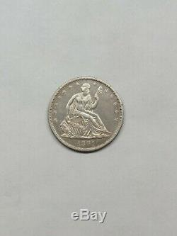 1861-o Assis Liberté Demi-dollar Au Détails
