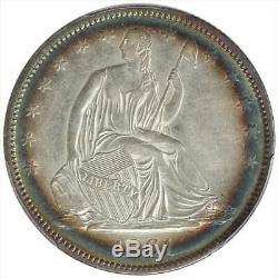 1861-o Assis Liberté Demi-dollar Pcgs Au55 Clés Date Guerre Civile Monnaie
