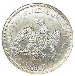 1861-o Seated Liberty Half Dollar 50c De Ss Republic Shipwreck Ngc Unc (ms)