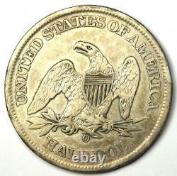1861-o Seated Liberty Half Dollar 50c Xf Detail (ef) Rare CIVIL War Coin