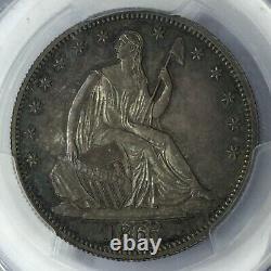 1865 50c Seated Liberty Half Dollar Pcgs Pr64 #t3