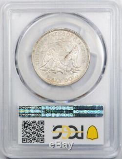 1869 50c Assis Liberté Demi-dollar Pcgs Au 55 À Propos Ongecirculeerd Better Date