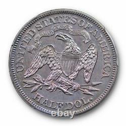 1869 50c Liberty Seated Half Dollar Pcgs Pr 63 Proof Violet Toned Beauty