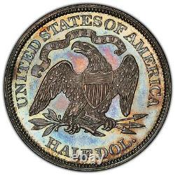 1869 Proof Seated Liberty Half Dollar Pcgs Pr-63, Cac, Ex E. Horatio Morgan Col