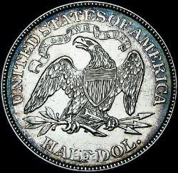 1869 Seated Liberty Demi-dollar - Stunning - #f464