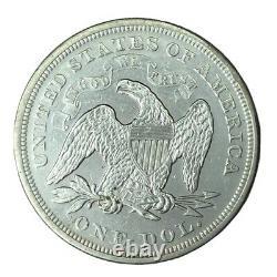 1869 Wm $1 Sièged Liberty Dollar Au #
