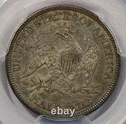 1869-p 1869 Seated Liberty Demi-dollar Pcgs Xf45 Cac