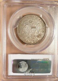 1869-s Liberty Seated Demi-dollar Pcgs Xf45, Super Pq Pour Grade