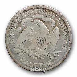 1870 CC 50c Assis Liberté Demi-dollar Bon À Très Bon Date De Clé Carson City